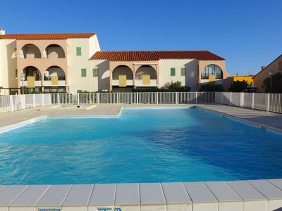 Photo for Beautiful apartment for 4 guests with pool, WIFI and TV