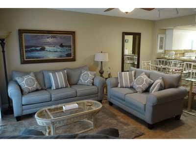 Photo for SeaCrest 210- Beautiful sunsets and views of the Inter-coastal Waterway and the Gulf of Mexico