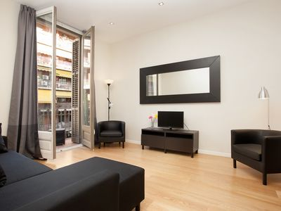 Photo for Spacious and bright place near Passeig de Gracia with free wifi