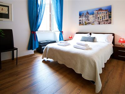 Photo for NAVONA SQUARE RENOVATED APARTMENT IN THE HEART OF ROME - WIFI - LIFT- AC -  4 PRS