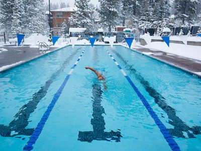 Pool - Enjoy Tahoe Donner amenities, including swimming pools, hot tubs, and a fitness center.
