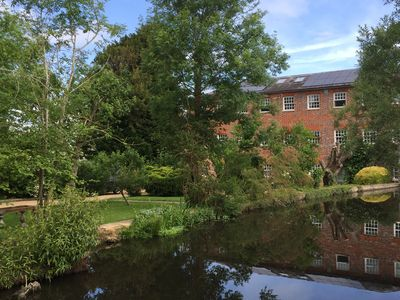 Photo for Stunning, luxurious converted riverside Silk Mill in beautiful Oxfordshire