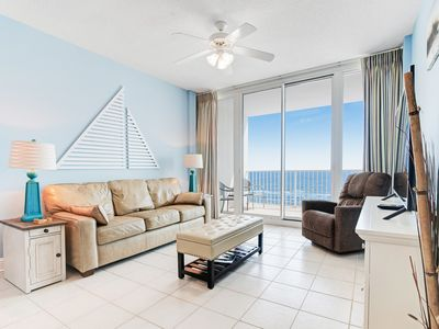 Photo for Beachfront condo w/ views, multiple on-site pools & hot tubs! Family-friendly!