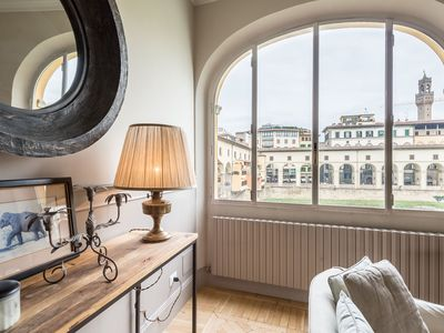 Photo for Luxury Romantic River, A very elegant house with a beautiful panoramic view in via de' Bardi