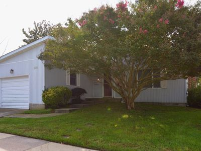 Photo for Pet Friendly 3BR Beach Home Quick Walk to the Beach Spacious and Clean Sleeps 10
