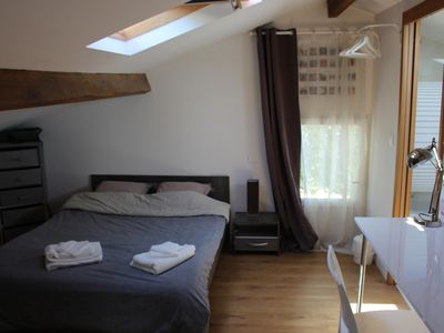 Photo for Cosy attic loft on the 1st floor of a house