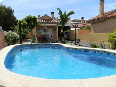 Photo for CASA NOHEMI,Ideal house for your holidays near the sea, free wifi, air conditioning, private pool, pets allowed, dog's beach.
