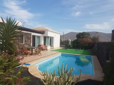 Photo for Villa with pool in La Oliva (Fuerteventura)