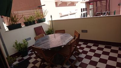 Photo for Graça's Terrace 1 - Charming apartment in the heart of Lisbon