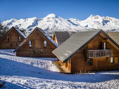 Photo for Chalet, wifi, 150m from resort center, view mountain, fitness, swimming pool, terrace, parking, tv