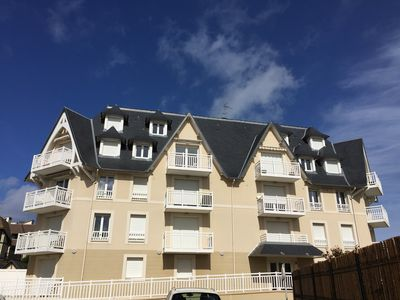 Photo for BLONVILLE SEA - near DEAUVILLE - apartment 4/6 pers.