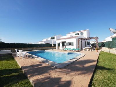 Photo for Villa with private pool and amazing sea/sunset view at Cap d'Artrutx/Cala'n Bosc