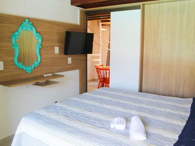 Photo for Comfortable and cozy apartment in Solar Água Pipa