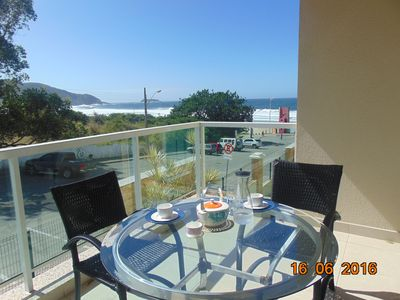 Photo for Santo Apê: your two bedroom paradise on the seafront of Santinho