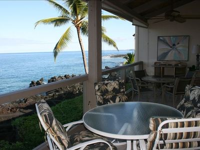Photo for Keauhou Kona Surf and Racquet Club. Spectacular Oceanfront!