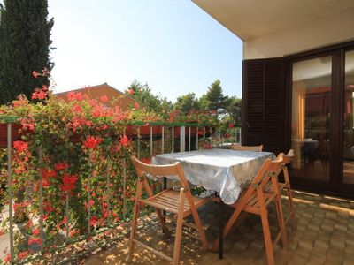 Photo for Two bedroom apartment with terrace Rovinj (A-7144-a)