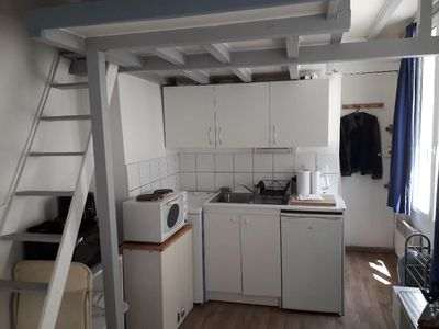 Photo for Furnished studio with mezzanine, Bastille / Aligre
