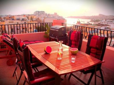 Photo for Holiday apartment Sliema for 2 - 4 persons with 2 bedrooms - Penthouse holiday apartment