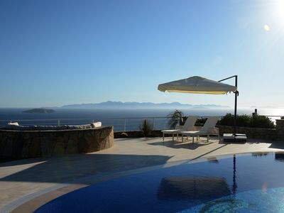 Photo for Luxury Villa Yalikavak Bodrum with Private Pool, 3 Bedrooms. Open sea views