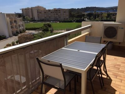 Photo for LAVANDOU Ormarine Bel T3 apartment, air conditioned