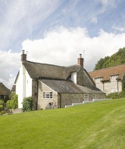 Photo for Pretty 2 bed cottage in the heart of The Blackdown Hills and only a short drive to coast