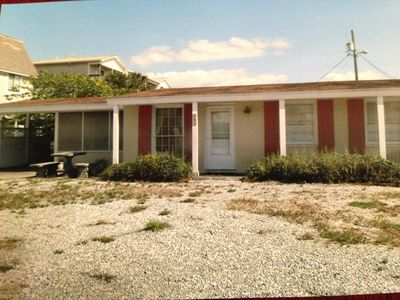 Photo for Quiet, Family Friendly Cottage Just Steps From Beautiful Beach On Gulf Of Mexico