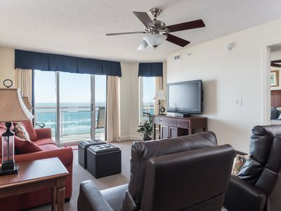 Photo for Oceanfront 3 bedroom 3 bath Unit in the Heart of North Myrtle Beach | Bahama Sands -  508