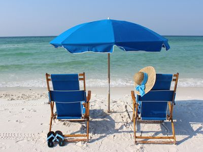 Photo for FREE BEACH SETUP - Only a few FALL weeks open -TOP FLOOR - Great Gulf Views