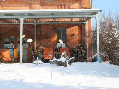 Photo for Living in the farmhouse - 200 sqm with sauna and fireplace