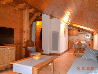 Photo for Residence HTS CHAVANTS, FEET Tracks, SWIMMING POOL, view IMPRENABLE chain MtB, WIFI