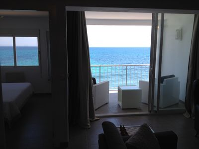 Photo for Luxurious beach apartment with a private beach 'Oden B' in Altea, Spain