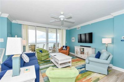 1 Silver Beach Towers West 501- Living Area