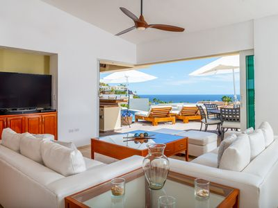 Photo for Villa Del Toro Rojo, Ocean View in Pedregal - 24hr Concierge, Daily Maid Service