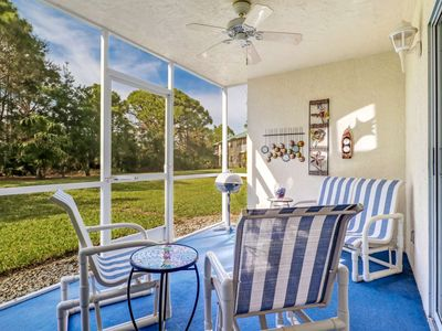Photo for Quiet Bonita Springs Condo Retreat, Gated Community, Close to Beach, Free Wi-Fi, Heated Pool and Spa