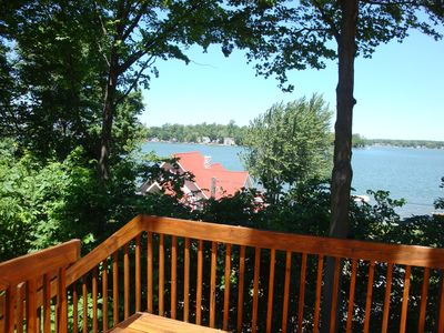Photo for Beautiful 5 BR/3BA home on Paw Paw Lake close to wineries & wedding venues