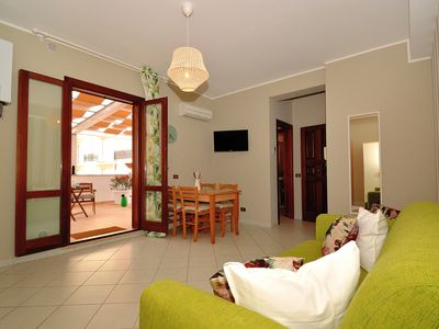 Photo for Holiday Apartment Cerasun in 2-seater penthouse with veranda, wooden shed, free wi-fi