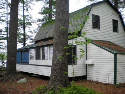 Photo for 3 Cottage Compound w/shallow sandy frontage on Stern Pond