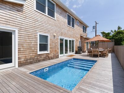 Photo for Bright home w/ private pool, beautiful outdoor area, and family friendly spaces!