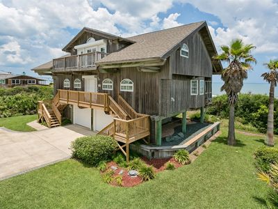 Photo for Direct oceanfront beach house. Casual comfort that makes you feel right at home.