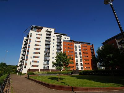 Photo for Exciting water and city views and stylish, convenient accommodation for guests visiting the Welsh ca