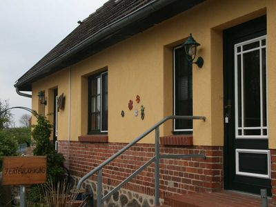 Photo for 3-room apartment plus eat-in kitchen in the country house - LandHof Jörnstorf near the seaside resort of Rerik