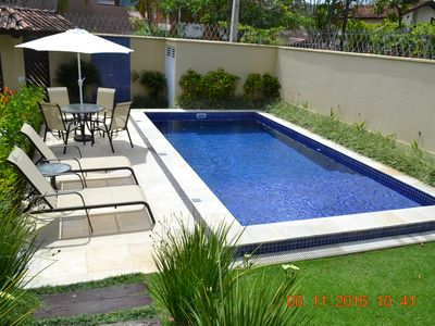 Photo for JUQUEHY, Private Pool, 2 parking spaces, Wi-Fi -Route with Security