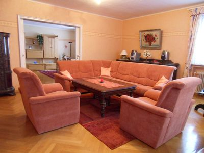 Photo for Spacious vacation apartment in the middle of the Thüringen forest