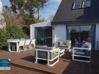 Photo for Combrit Sainte Marine Charming holiday home 50 m from the beach