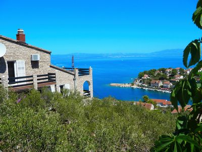 Photo for Apartments Vinka, (15956), Stomorska, island of Solta, Croatia