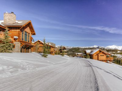 Photo for Ski-in, ski-out, luxury suite with panoramic mountain views, 4 en-suite bedrooms, elegant furniture