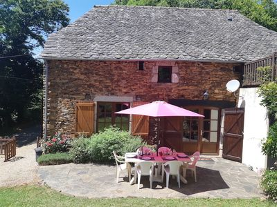 Photo for Converted stone Barn with Pool