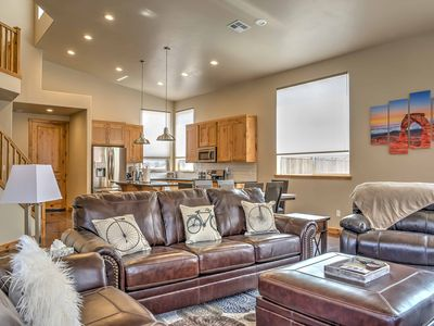 Modern Moab Townhome w/Private Hot Tub & Patio!