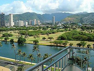 Photo for Waikiki Furnished 1Bedroom 2 blks Beach
