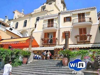Photo for Villa Costanzo beach front 10 yards Free WI FI